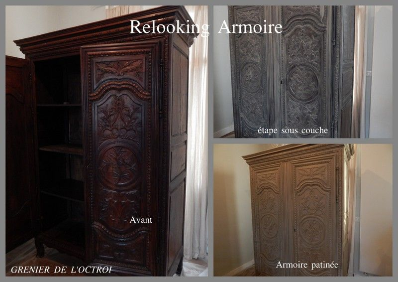 relooking de meubles. Black Bedroom Furniture Sets. Home Design Ideas